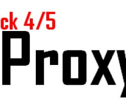 20.04.2020 Güncel Socks4 Proxy